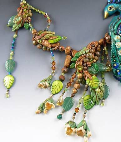 épinglé par ❃❀CM❁✿Single-Strand Necklace with Polymer Clay Focal and Beads and Gemstone Beads - Fire Mountain Gems and Beads tutorial