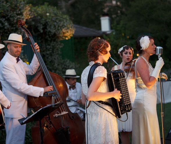 Vintage-inspired Live Music For Your Wedding Reception