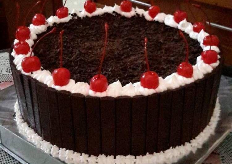 Resep Black Forest Cake Recipe By Me Enaaaaak Bgt Lhoo Oleh Diny Fe Resep Kue Kue Tart Coklat