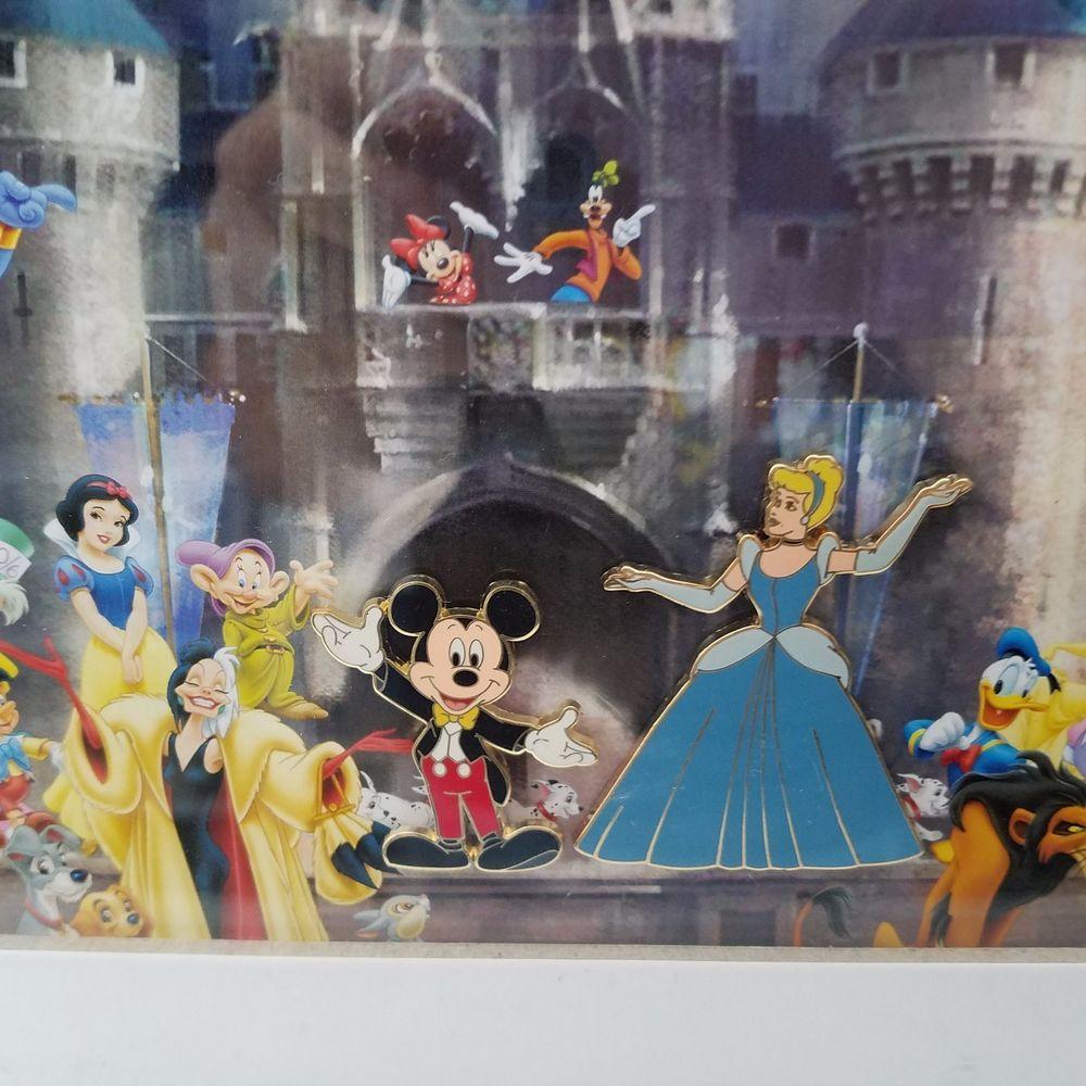 Walt disney pin picture frame w8 pins cinderellas castle 15x12 walt disney pin picture frame w8 pins cinderellas castle 15x12 black frame jeuxipadfo Gallery