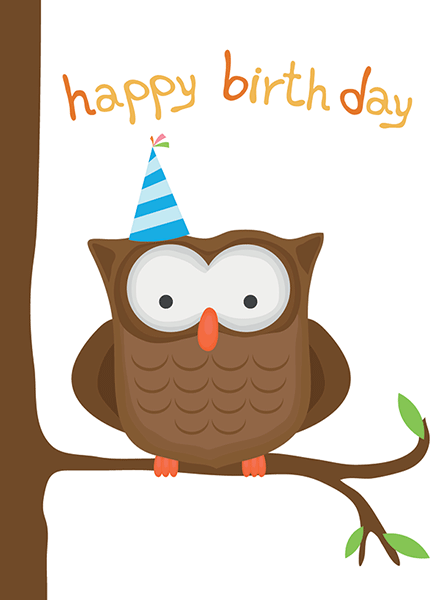 Birthday Owl Emoticons For Special Occasions Pinterest