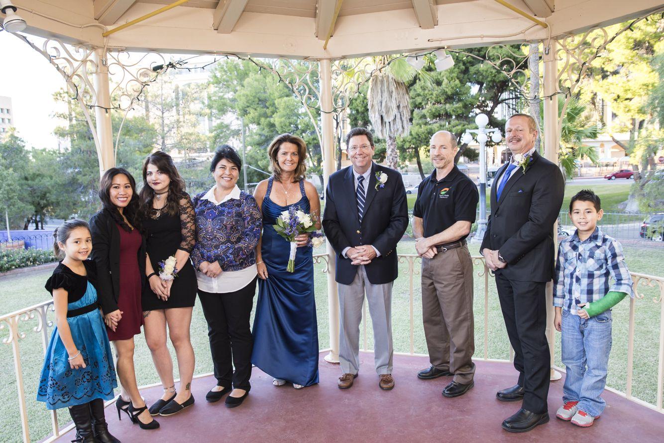 Wedding Downtown Tucson At La Placita Gazebo JW