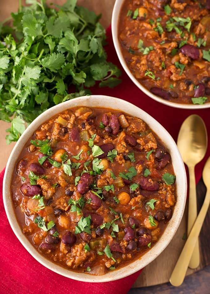 My Slow Cooker Turkey Chili Recipe has been a yummy staple ...