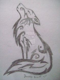 Lobo Aullando Lobo Dibujo A Lapiz Lobos Para Dibujar Lobo Dibujo