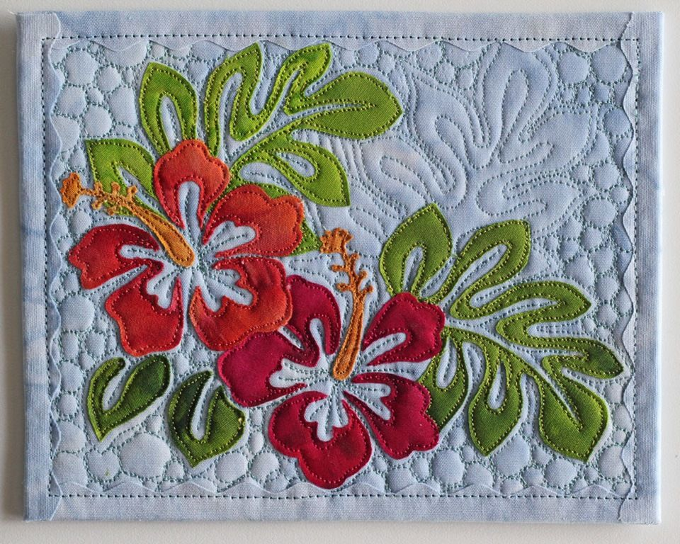 Img 7251 255b3 255d Jpg Image Hawaiian Quilt Patterns Hawaiian Applique Quilt Fabric Postcards