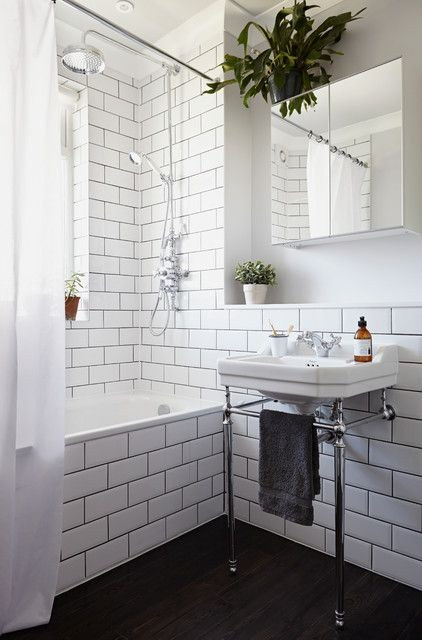 17 Great Ideas To Refresh Your Bathroom With Console Sink Traditional Bathroom Contemporary Bathroom Sinks Transitional Bathroom Faucets