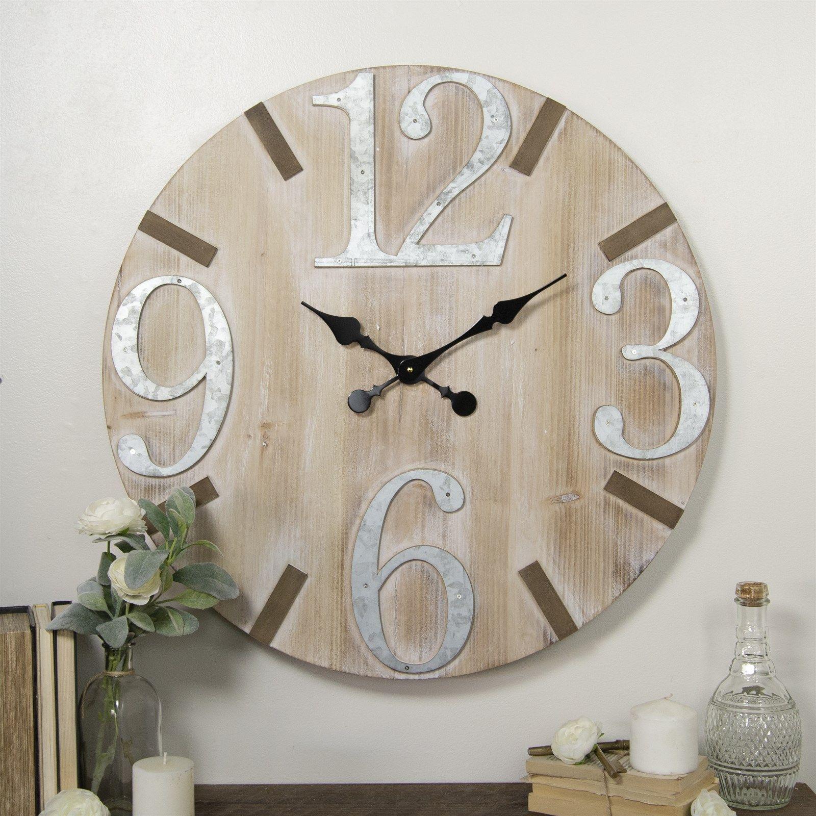 28 Wood Wall Clock Clock Decor Wall Clock Modern