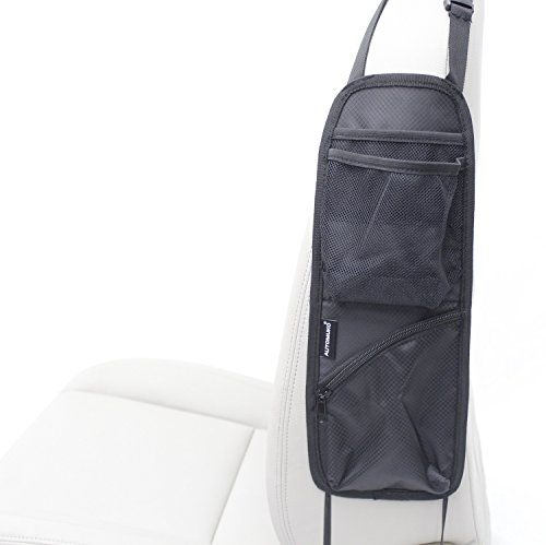 Automuko Seat Side Organizer, For Use On Any Front Passenger Car Seats For Cars, Trucks, Mini Vans And SUVs With One-Year Limited Warranty AutoMuko http://smile.amazon.com/dp/B016J8BNEI/ref=cm_sw_r_pi_dp_DG6Qwb1CCQVQ7