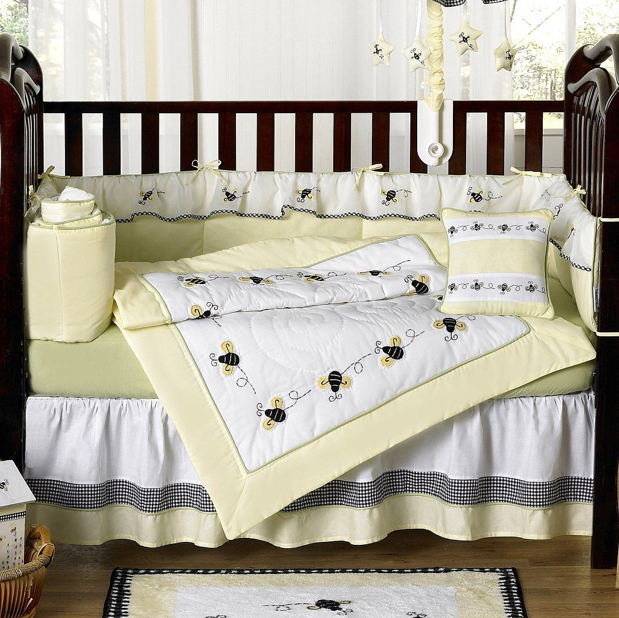 Cute Bumble Bee Nursery Set Unique Baby Bedding Baby Bed Baby Crib Sets