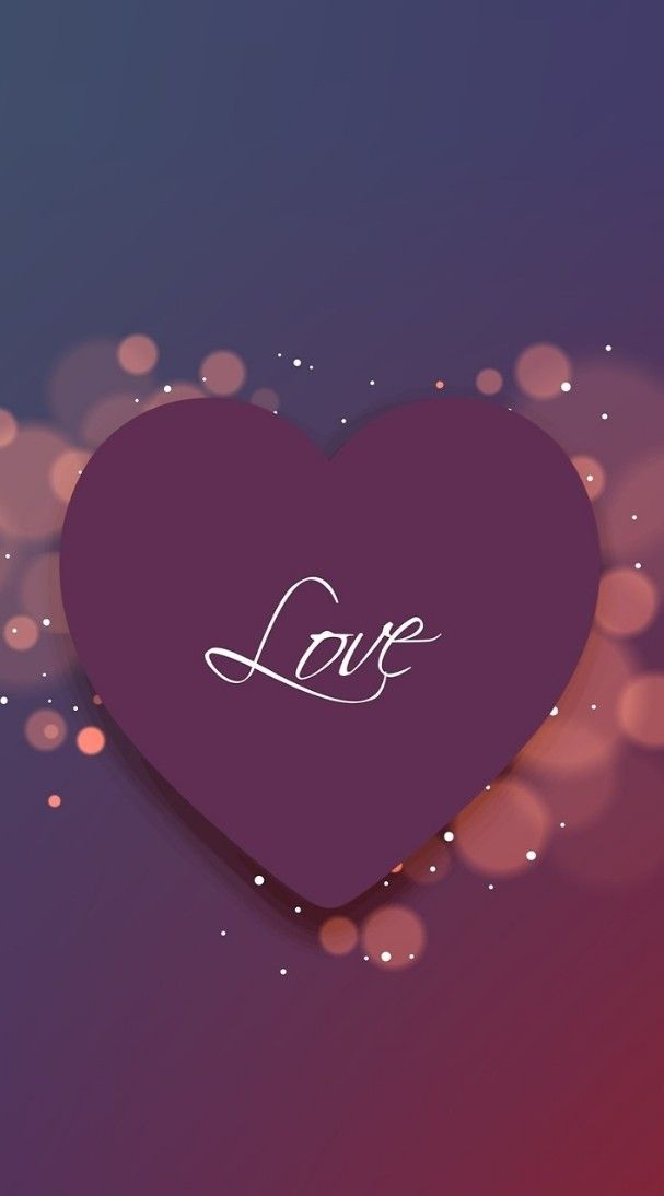 Love Heart Wallpaper Background Love Wallpapers Romantic