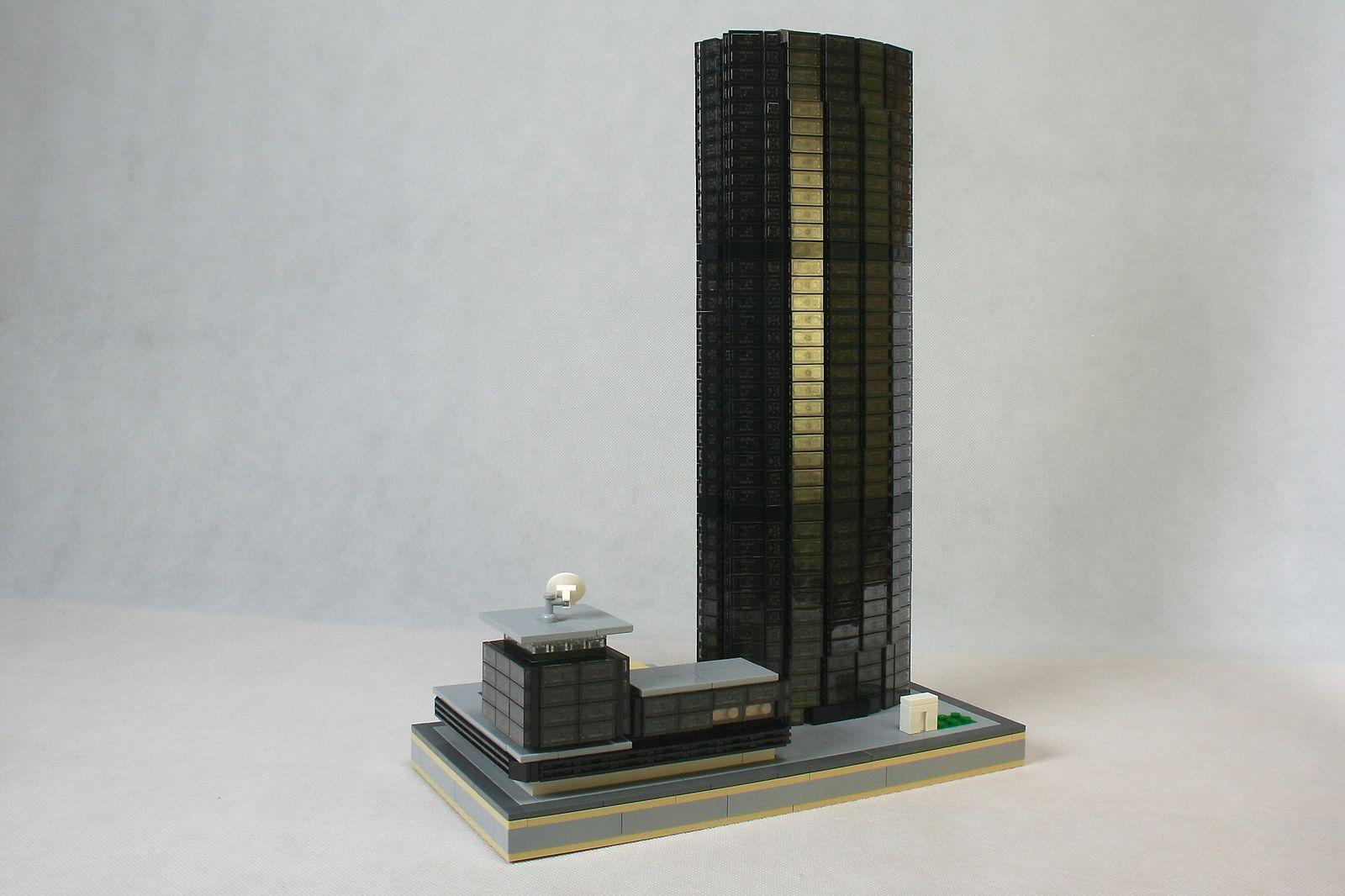 martin s kora modeled tour montparnasse paris 39 third tallest building at 1 650 scale the. Black Bedroom Furniture Sets. Home Design Ideas