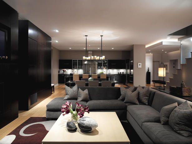 Contemporary Living Area Decorating Tips   Home Decor And Interior Design  Ideas