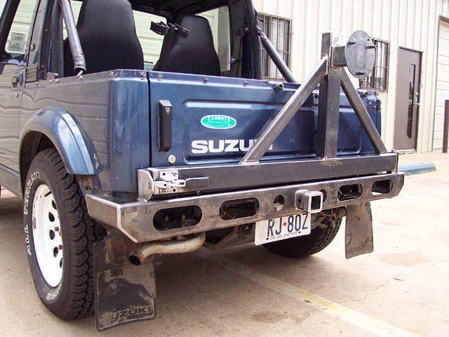 Suzuki Samurai Spare Tire Rack Rear Bumper Suzuki Rear Bumpers