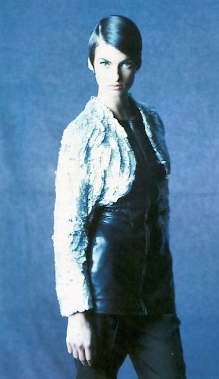Linda Evangelista for Lanvin S/S 1992 by Paolo Roversi