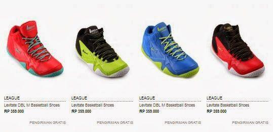 Daftar Harga Sepatu Basket League Original Terbaru Sepatu Basket