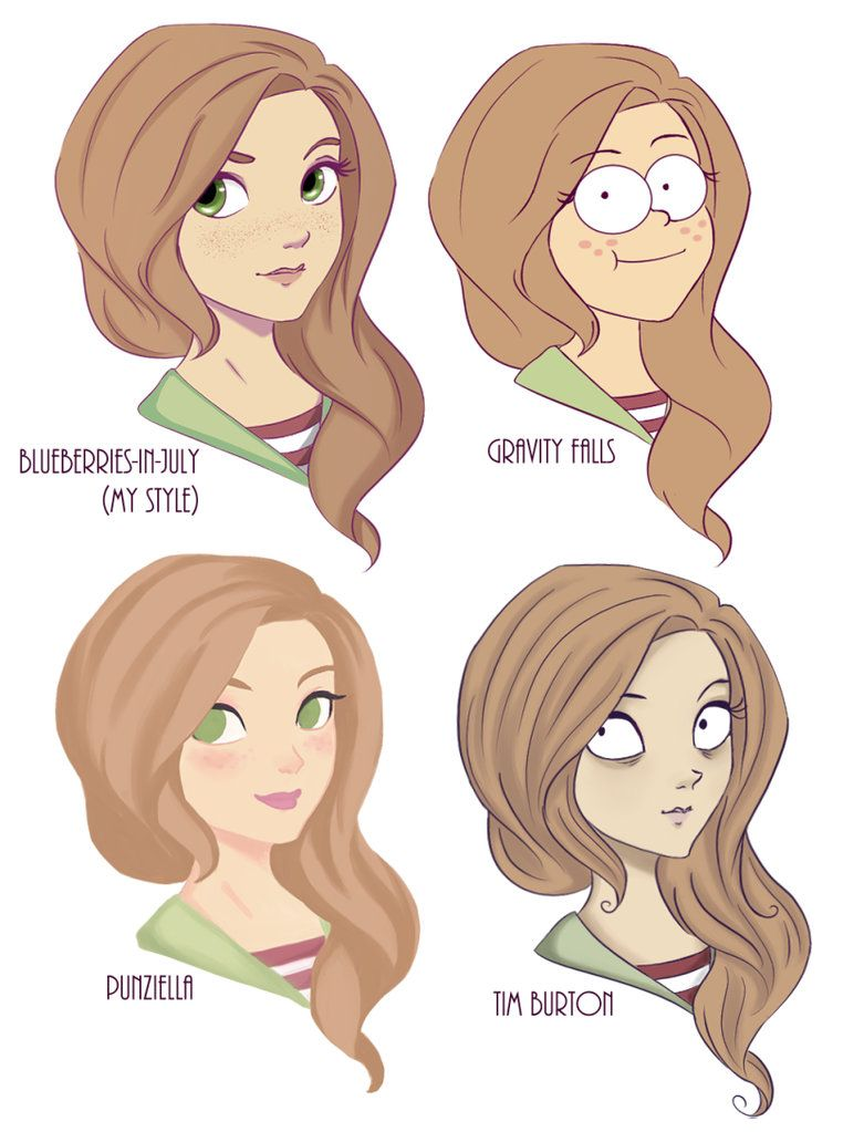 Style Challenge By Blueberries In July Cute Art Styles Style Challenge Different Drawing Styles