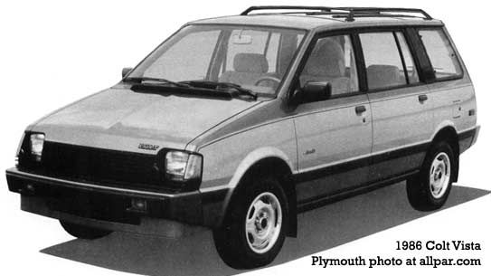 1986 Dodge Colt Vista. It was one of the zippiest and most versatile cars I ever owned.