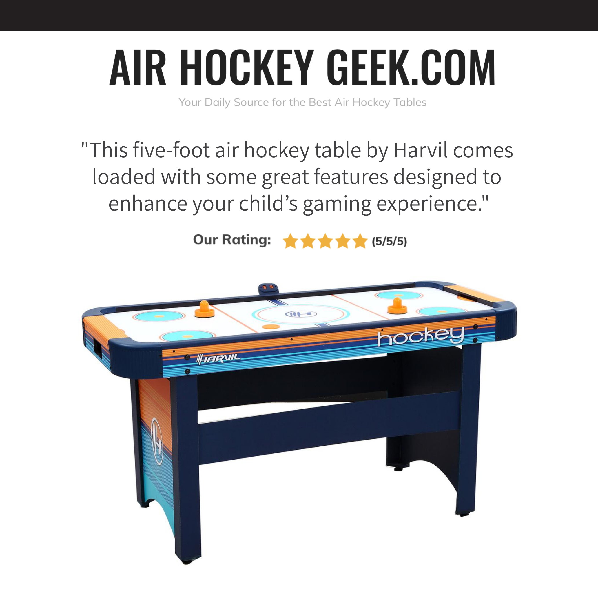 The Best Air Hockey Tables For Your Kids Our Top 5