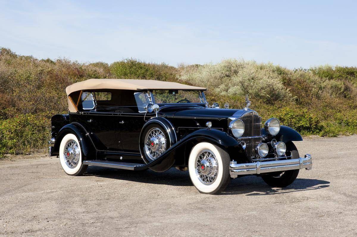 1932 Packard 902 Standard Eight Dual Cowl Sport Phaeton   old cars ...