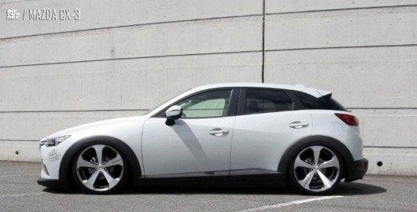 Mazda Cx 3 Air Runner Lowered On Lowenhart Lv5 Wheels In 2020 Mazda Mazda Cx3 Mazda Cx5