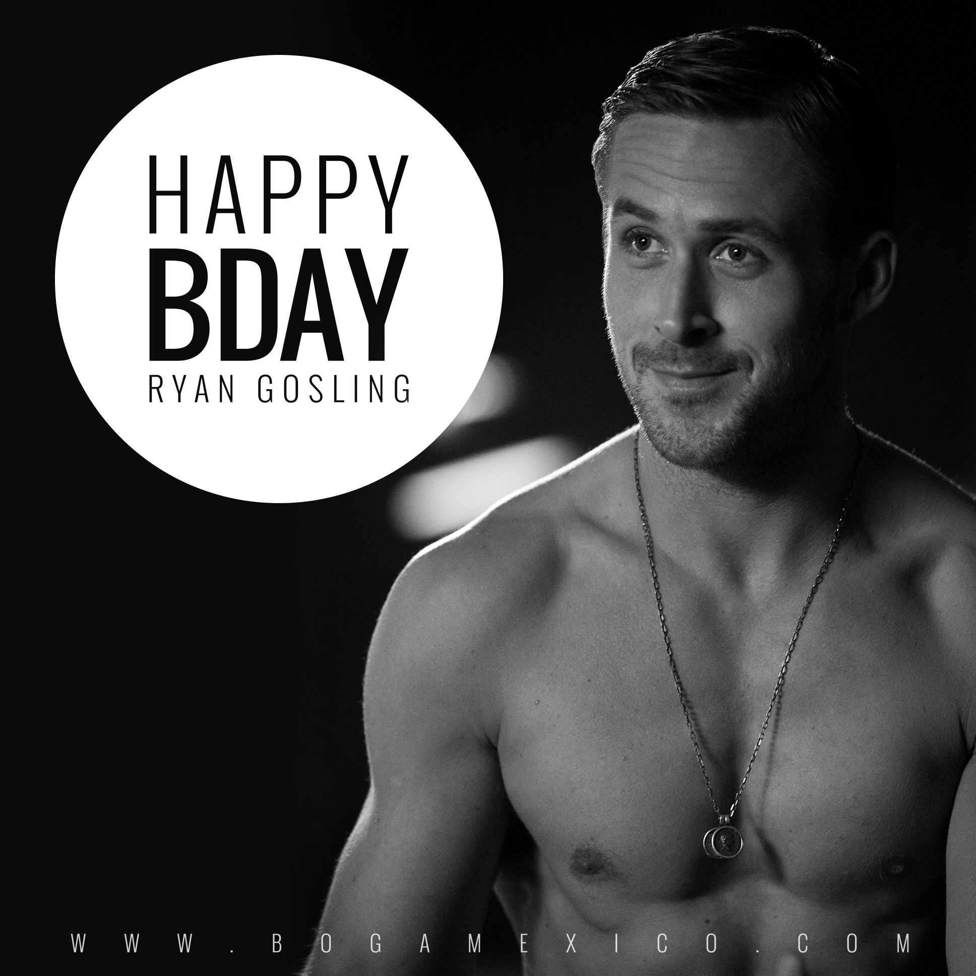 ¡Feliz cumpleaños al hombre más deseado, Ryan Gosling! #bogamexico #mexico #cumpleanos #ryangosling #birthday #happybirthday #crazystupidlove #thenotebook #handsome