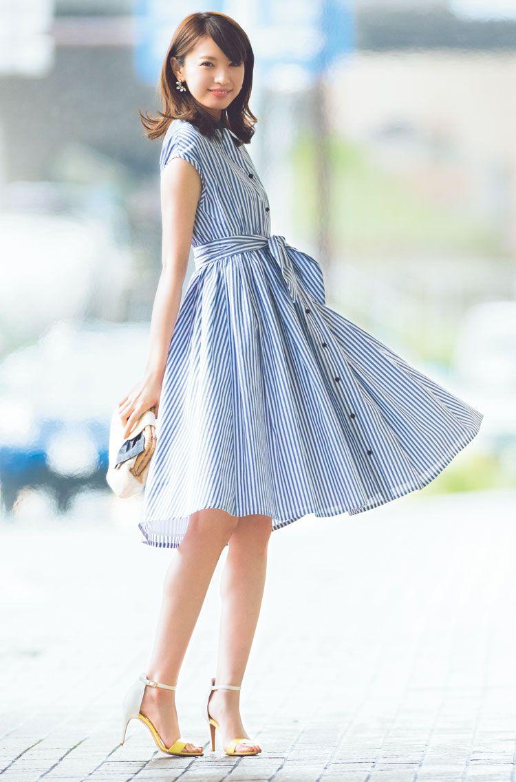 17c02e8b1230b 宮田聡子、優秀シャツワンピできれいなお姉さんコーデ♡