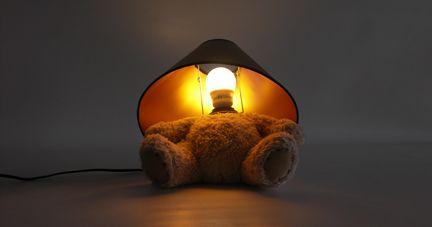 Teddy Bear Lamp by Matthew Kinealy for Suck UK