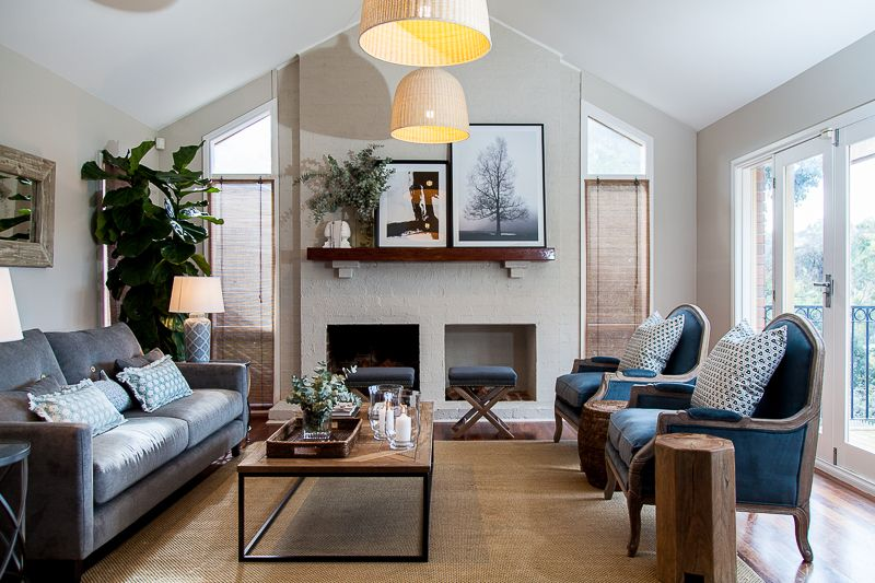 recent family room designed by melbourne interior designers jemden interiors cosy modern also rh nl pinterest
