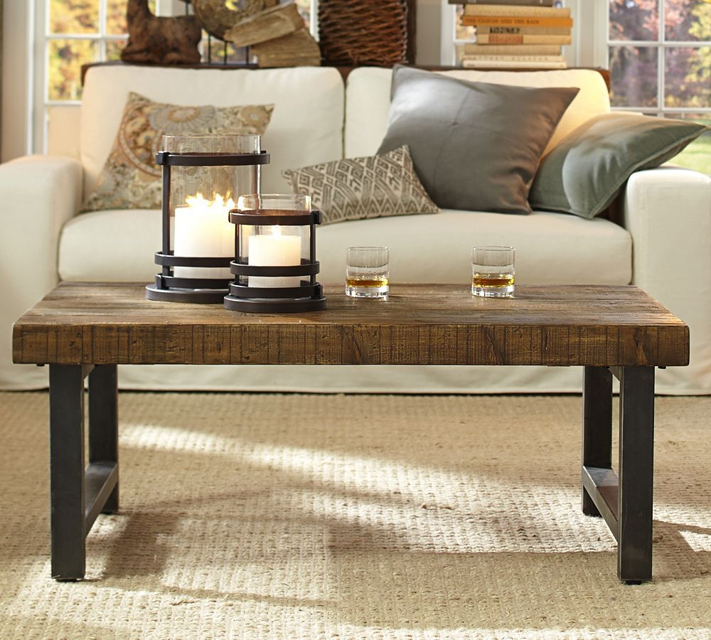 How To Style Your Coffee Table Coffee Table Pottery Barn Coffee