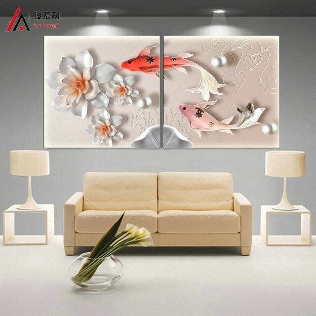 Material Canvas Printing High Quality Material Options With Frame The Framed In 2020 Canvas Wall Decor Living Room Canvas Painting Poster Wall Art