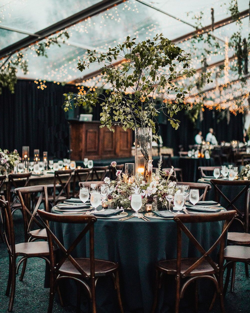 Vermont Wedding Flowers: A Moody, Gothic-Inspired Wedding In A Vermont Birch Grove