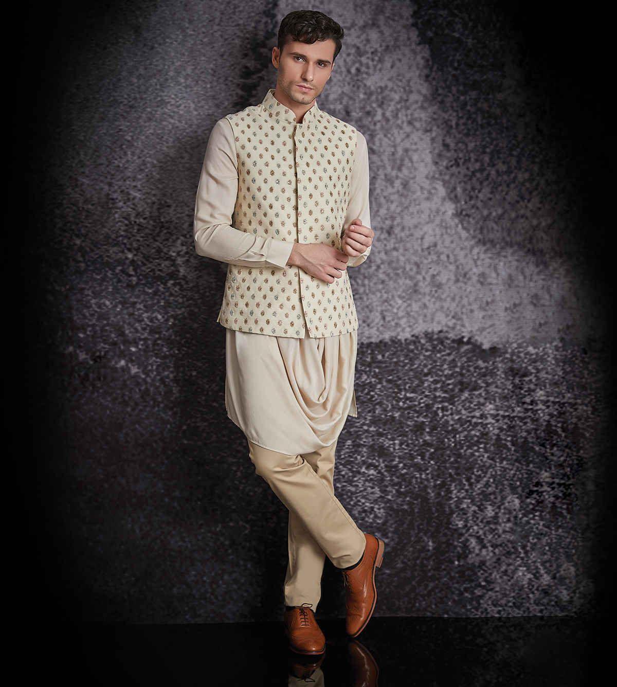 Men's Indian Ethnic Wear Online :: Wedding Apparel For