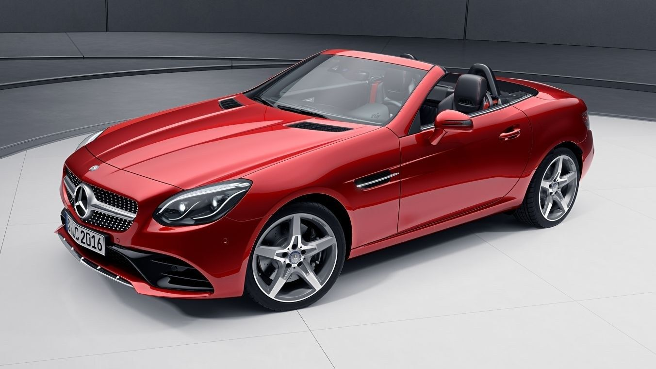 2020 Mercedes Slc Class Redart Edition Review And Specs With
