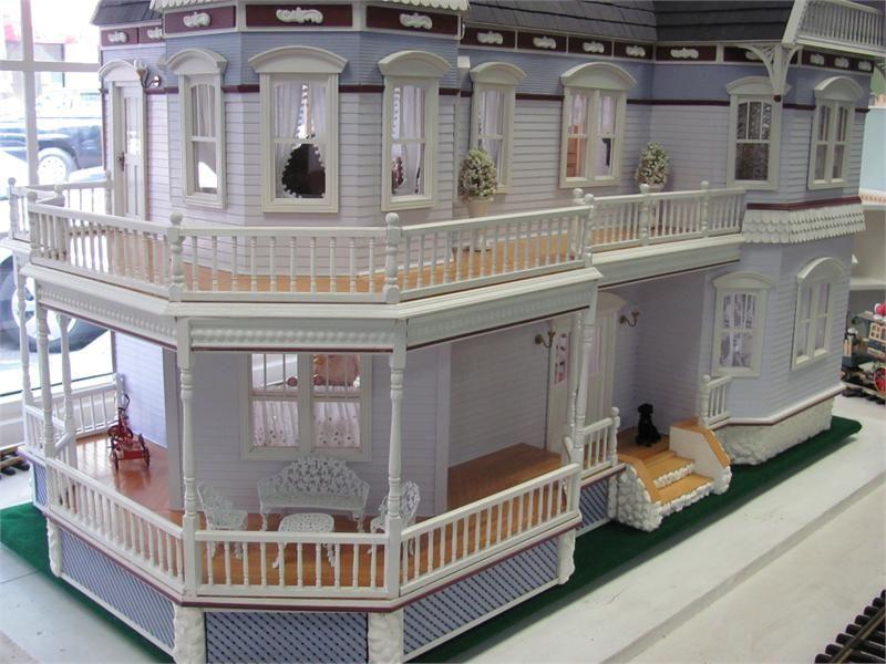 Queen Anne Dollhouse Paint Colors Manufacturer Real Good Toys Victorian Houses Pinterest