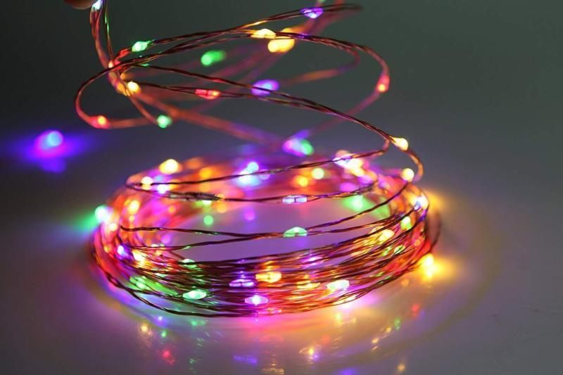 Details about Yoport Fairy String Light, 100 Multi-Color Changing