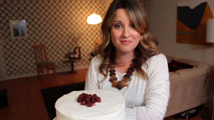 Support Chef Anna creating Lovely Lady Cakes Cooking Show