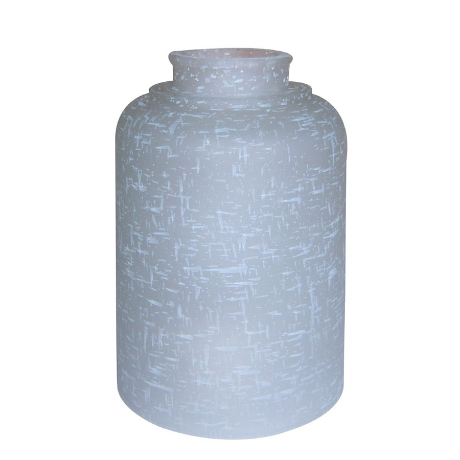 Portfolio 6-in H 4.3-in W White Linen Vanity Light Shade | lights ...