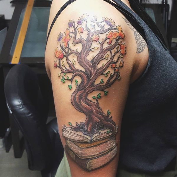 Tree Tattoos Designs And Meanings Tattoos Henna Pinterest