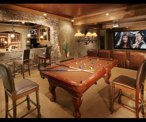 basement turned geoffs mancave den office taxidermy and. Black Bedroom Furniture Sets. Home Design Ideas