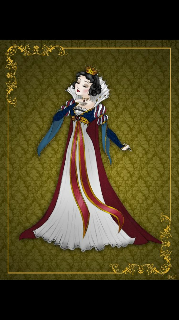 #Disney princess no more: here comes The #Queen serie by @GFantasy92 #SnowWhite