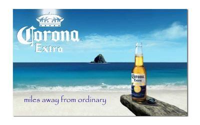 Corona Beer Miles Away From Ordinary Novelty 3 X 5 Beer Flag Corona Beer Corona Beer Bottle