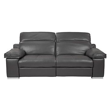 Z Gallerie Sloan Electric Reclining Sofa Grey