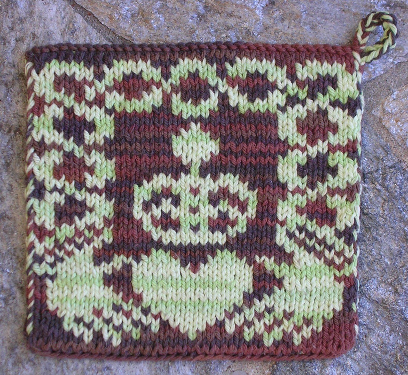 Free Knitting Pattern - Knitting Daily (Claddagh Pot ...