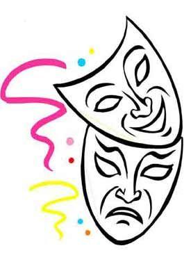 carnaval kleurplaat maskers en meer carnaval decoraties
