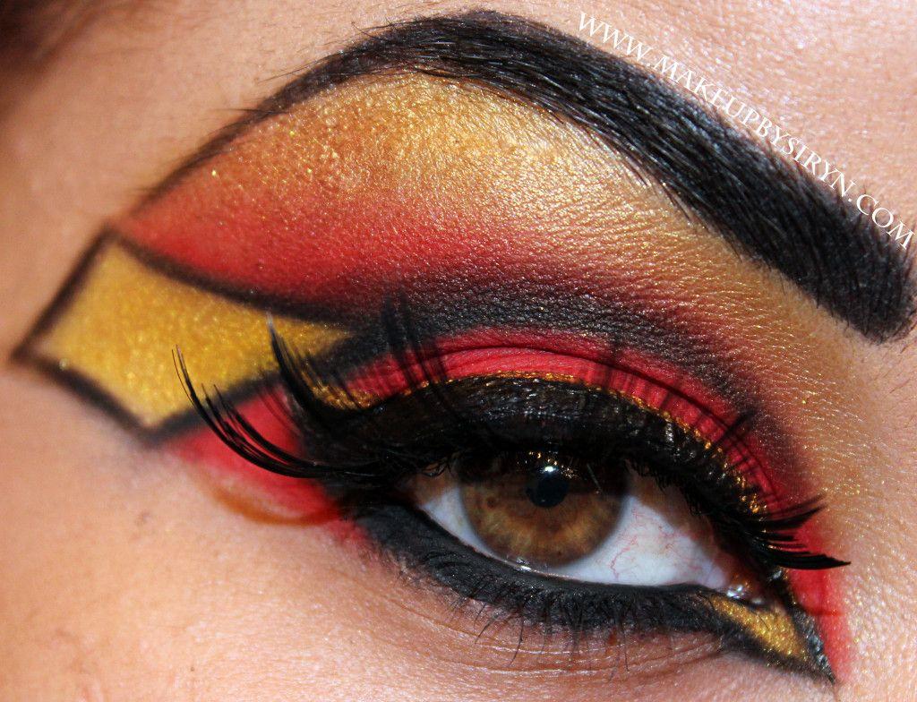 jessica drew spider woman inspired eye makeup win geeky rh pinterest com