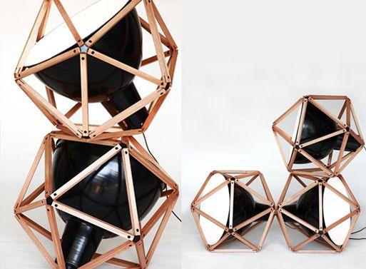 Designer Henry Pilcher  Block 2 Lamp