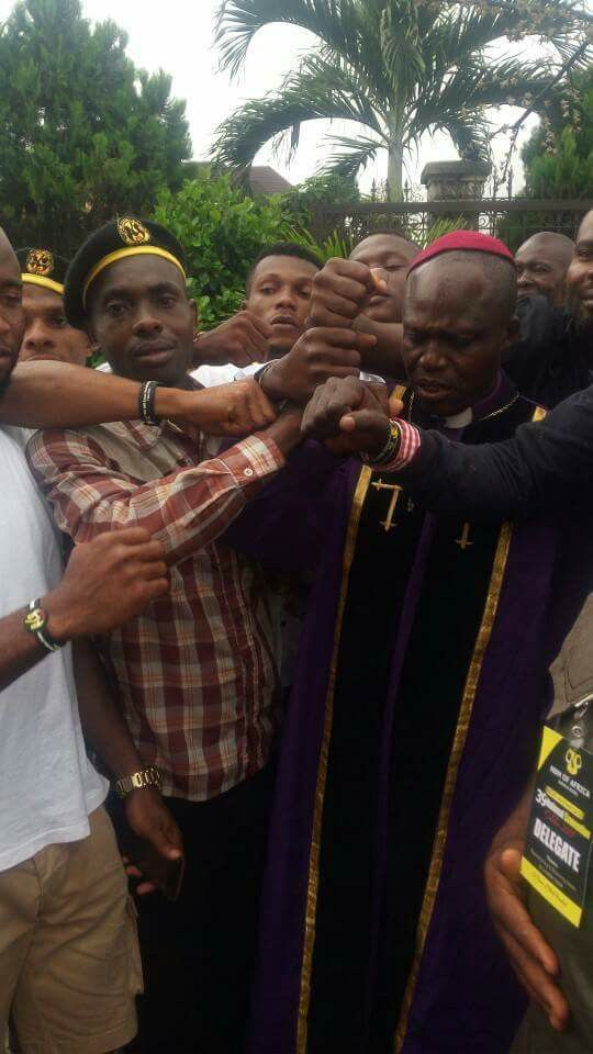 The news of a Nigerian Bishop who was announced as a member of a