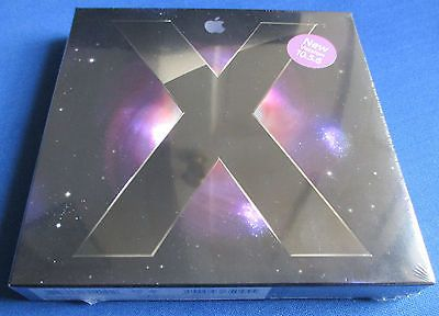 Apple Mac OS 10.5.6 Full Install or Upgrade Start Up DVD For Old MAC-NEW SEALED!
