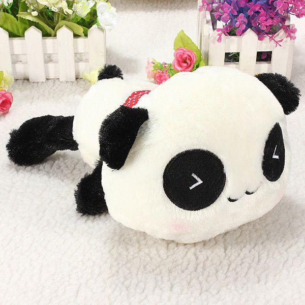 Cute Plush Doll Toy Stuffed Animal Panda Soft Pillow Cushion Bolster Gift 20cm
