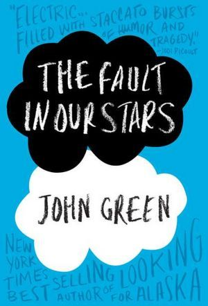 John Green's latest book! Haven't read it yet but I've heard good things! The Fault in Our Stars